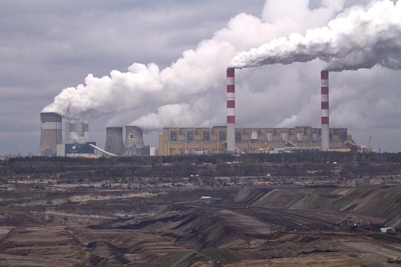 elektrownia bełchatów kominy